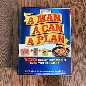 NWOT {A Man, A Can, A Plan} Cookbook